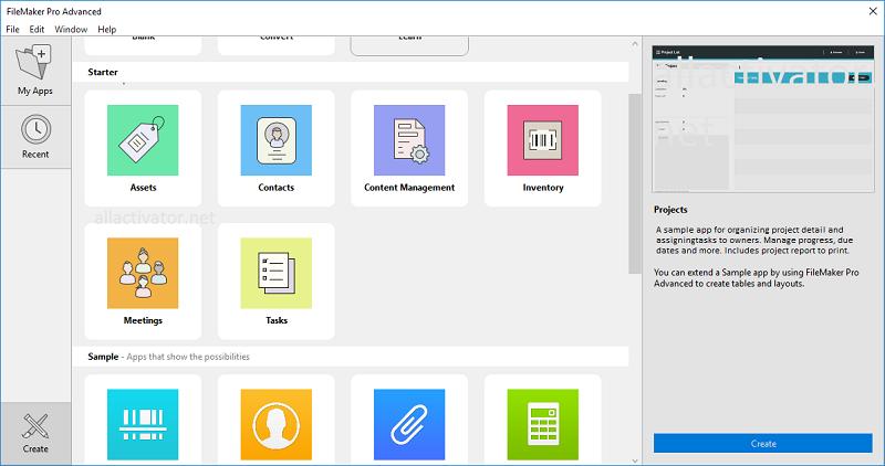 FileMaker Pro Advanced 18.0.4.428 Crack Latest Version Free Download