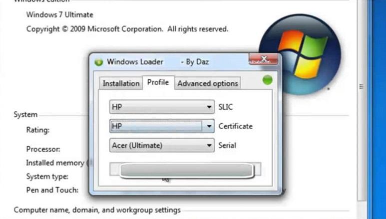 Windows Loader Download 3.1 By Daz [Latest]