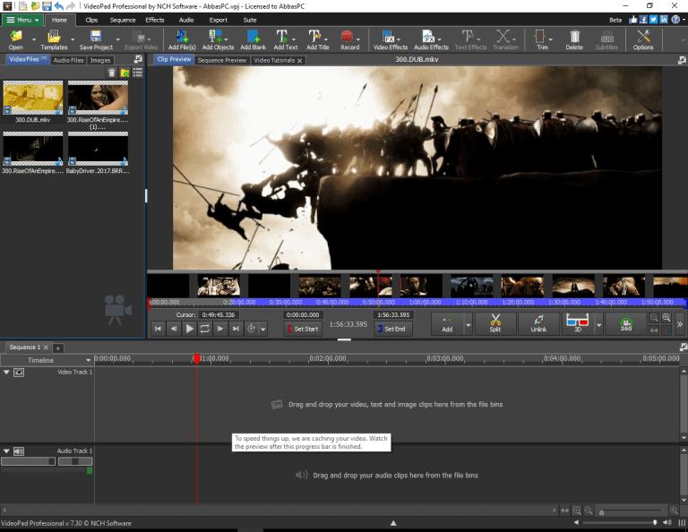Videopad Video Editor 10 Crack + Torrent Patch Full Version Download