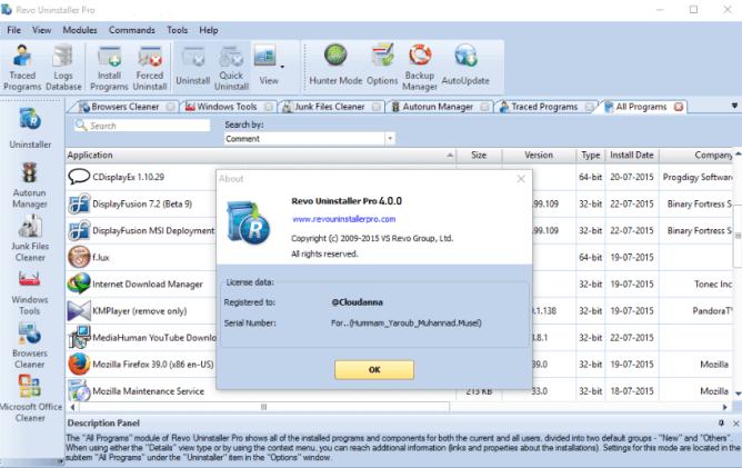 Revo Uninstaller Pro Crack + License Key Latest Version Download